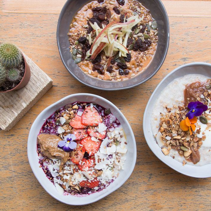 26 Grains, London - cafe with a great choice of vegetarian / vegan options