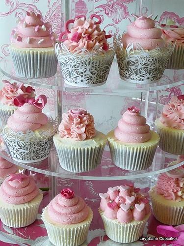 Yumme Pink Cupcakes
