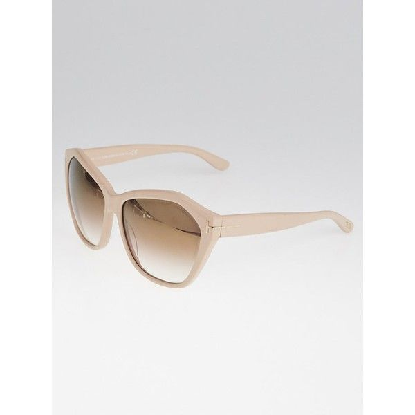 Pre-owned Tom Ford Pink Plastic Frame Angelina Sunglasses-TF317 (€105) ❤ liked on Polyvore featuring accessories, eyewear, sunglasses, tom ford sunnies, tom ford, retro sunglasses, tom ford eyewear and retro glasses