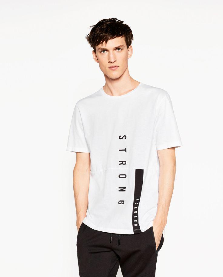 Image 2 de T-SHIRT STREET de Zara  Plus de découvertes sur Le Blog des Tendances.fr #tendance #mode #blogueur