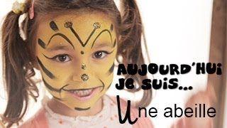 Maquillage Enfant Abeille