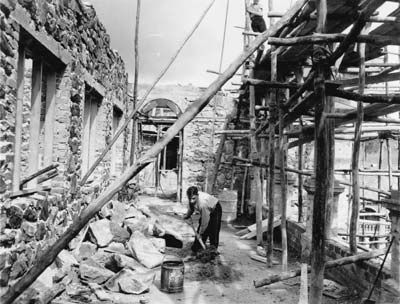 Construction of the administration building at Bindoon, 1952. Reproduced courtesy State Library of Western Australia, The Battye Library 010817D.Google Image Result for http://otoweb.cloudapp.net/graphics/large/construction-admin-building-bindoon-1952.jpg