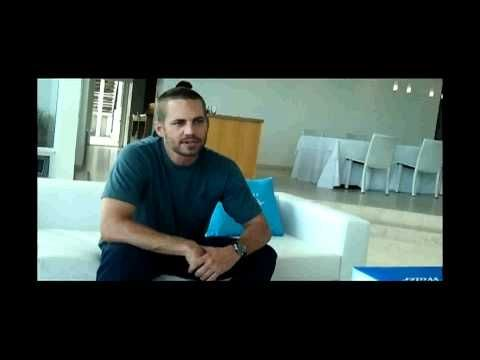 Paul Walker and Davidoff Cool Water Interview - Unedited. A Must see!!! Very cool video of Paul!