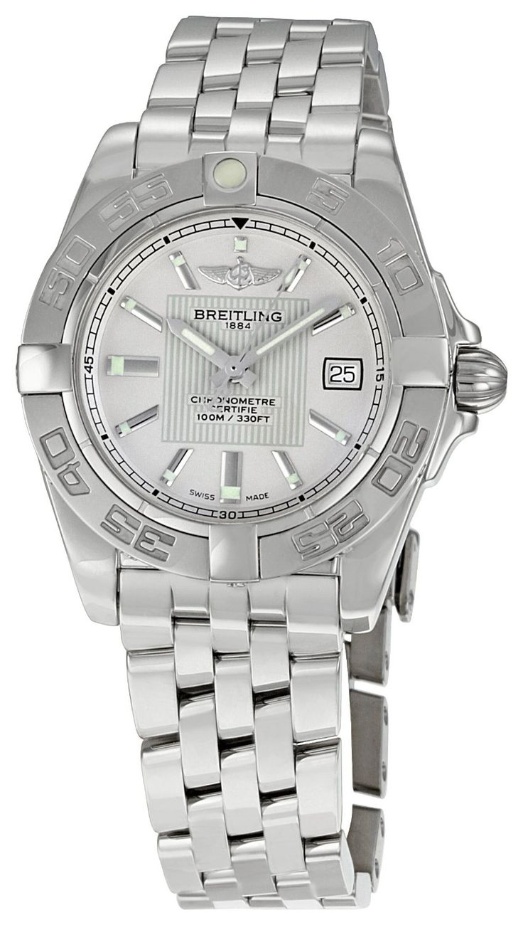 Breitling Women's BTA71356L2-G702SS Galactic 32 Silver Dial Watch, (aquaracer, watches, ladies tag watch, luxury)