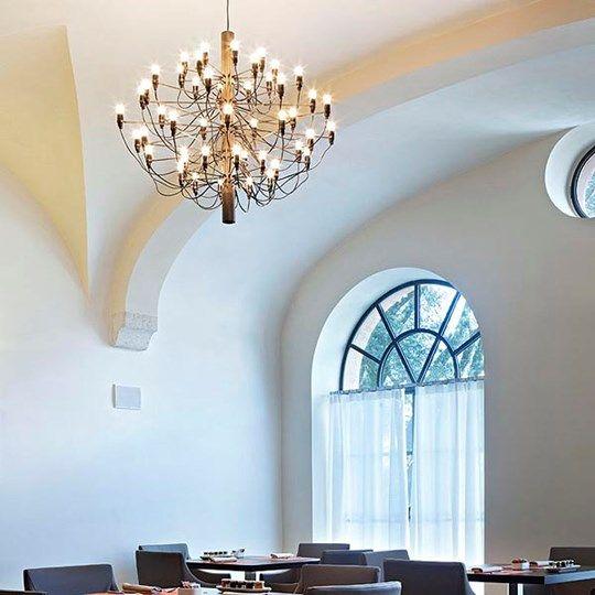 Искусство подвесные светильники домашнее освещение  https://ru.aliexpress.com/store/product/Mod-2097-Chandelier-Gino-Sarfatti-18-Heads-E14-Bulbs-Hanging-Lamp-Residential-Dining-Room-Restaurant-Lighting/1248587_32689217760.html?spm=2114.12010612.0.0.DAfAcM