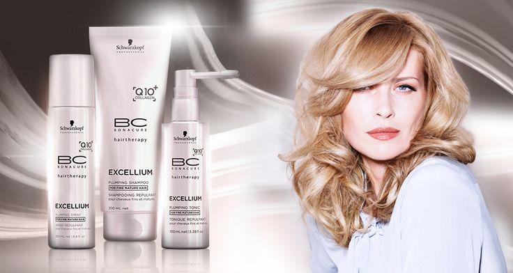 Jetzt BC Excellium für reifes Haar entdecken. www.clickandcare.ch/haarpflege/schwarzkopf/bc-bonacure/bc-excellium
