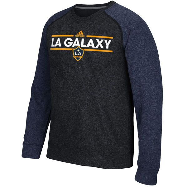 LA Galaxy adidas Dassler Ultimate Long Sleeve climawarm T-Shirt - Heathered Black/Navy - $54.99