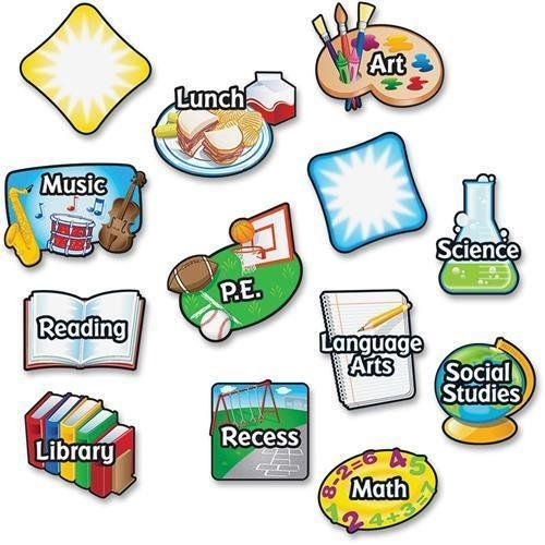 LRNLER3226 - Learning Resources Magnetic Subject Labels L...