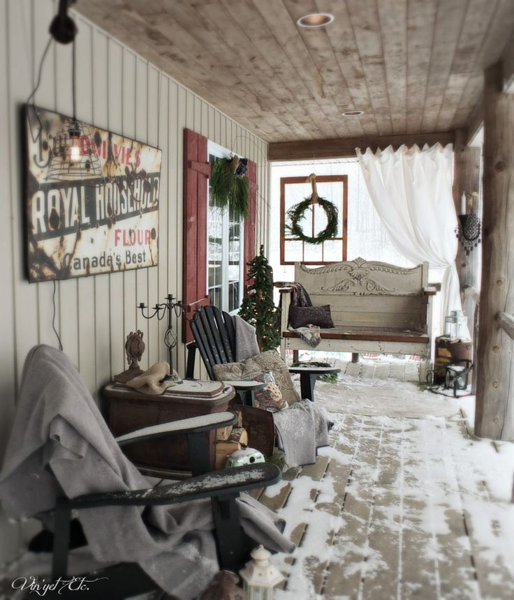 Christmas 2014   Rustic Porch A Warm Greeting. Part 64
