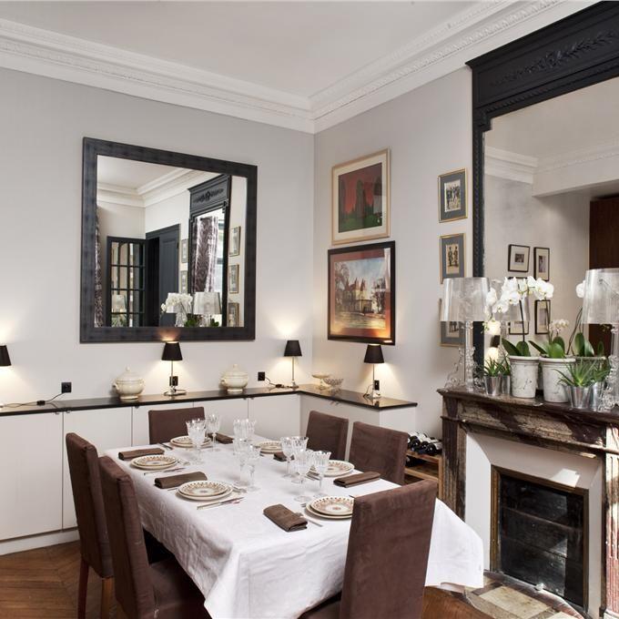 Dining Room in Skimming Stone & Railings