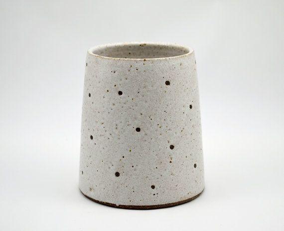Cache pot en grès  pot en céramique  poterie pot  par susansimonini