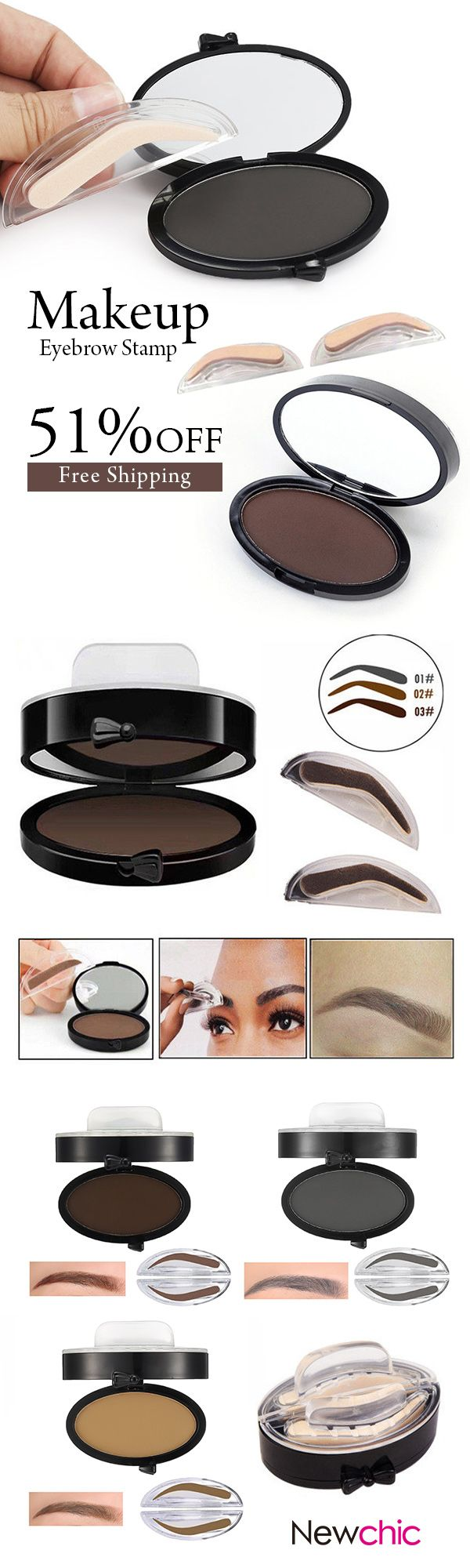 [Newchic Online Shopping] 51%OFF Eyebrow Enhancer