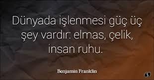 Image result for benjamin franklin sözleri