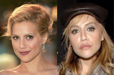 Brittany Murphy: übertriebene Lippen - Ästhetische Chirurgie bei den Stars  - Vorher (links) 2003 ist DAS entscheidende Jahr für Brittany Murphys Filmkarriere. Die amerikanische Schauspielerin, die bisher auf eher uninteressante Teenager-Rollen abonniert war...