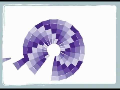 Bargello Color Wheel Pattern by Cheryl Phillips of Phillips Fiber Arts. http://www.youtube.com/watch?v=MBtSj4We6W8