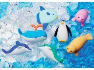 Iwako Gumka do mazania ścierania Delfin Pingwin
