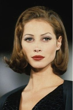 Image Result For Christy Turlington Hairstyles 90s