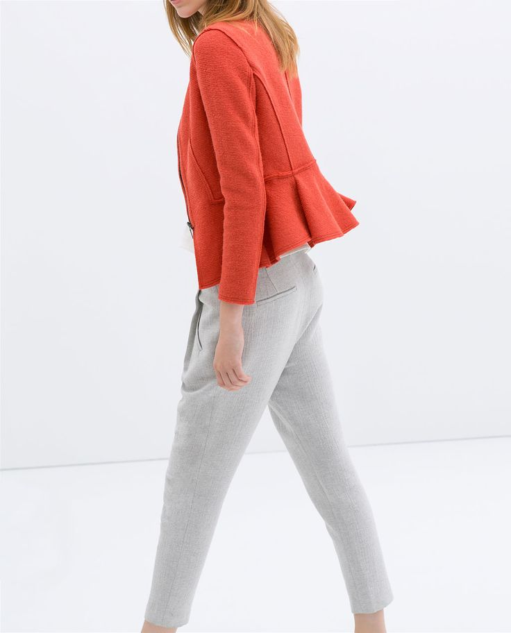 zara woman combined office. Jewel-recommended Wool Blazer From Zara. Zara Woman Combined Office