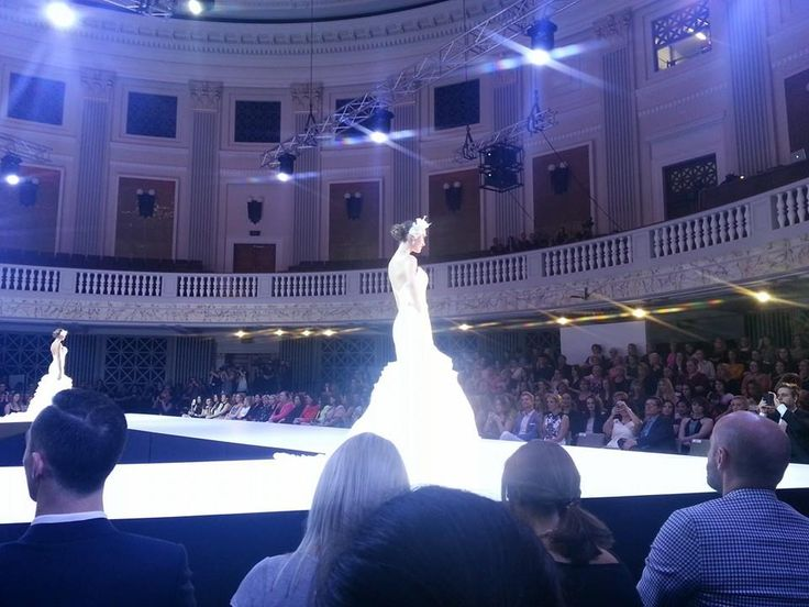 Our bridal gown designer launched her collection at the Mercedes-Benz Fashion Festival Parade 26-08-14.