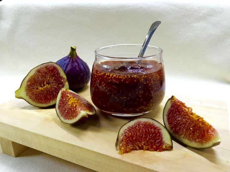 İncir Reçeli, Kakuleli - Fig Jam w/cardamom, vanilla & cinnamon