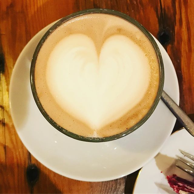 Goodmorning.... Chai Latte with lots of love❤️Wish it could be that lovely every morning.... #hotspot #alkmaar #enjoythegoodlife