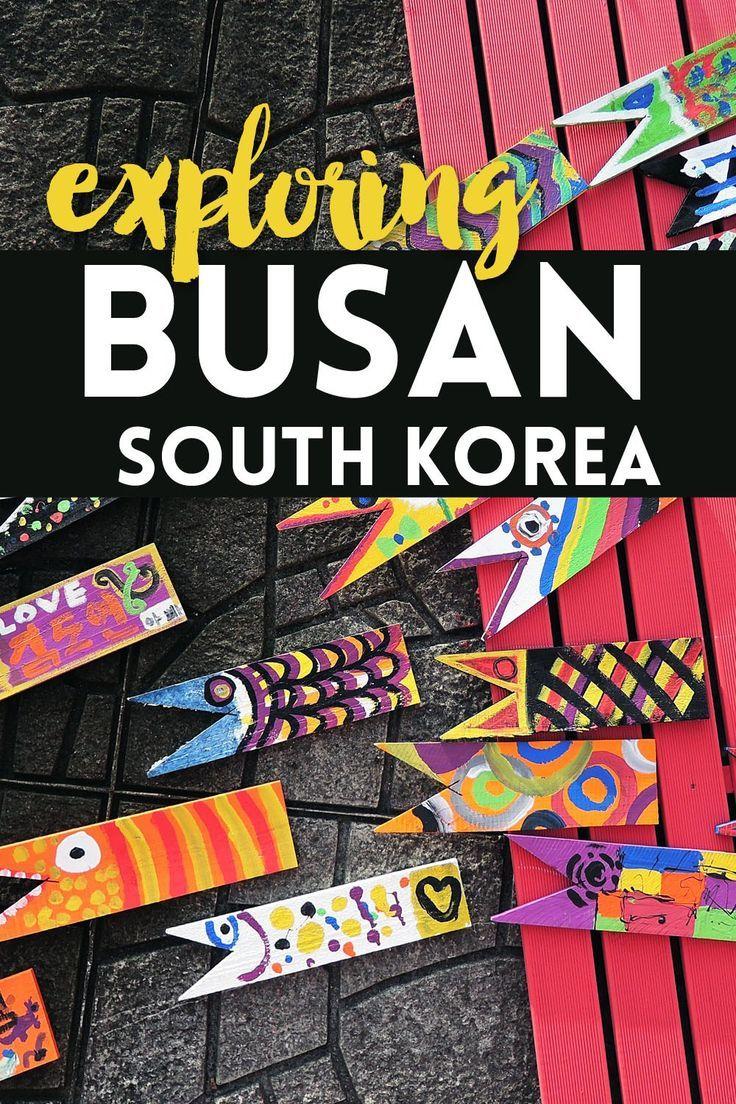 Exploring Busan, South Korea