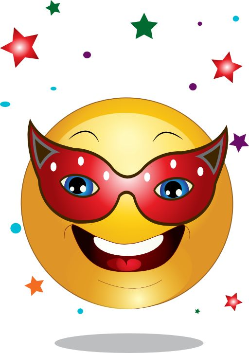 Birthday Greetings Emoji Masked Smiley | Smileys | Pinterest | Happy Smiley Face