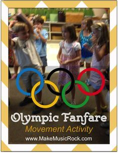 Make Music Rock: Olympic Fanfare listening and movement activity