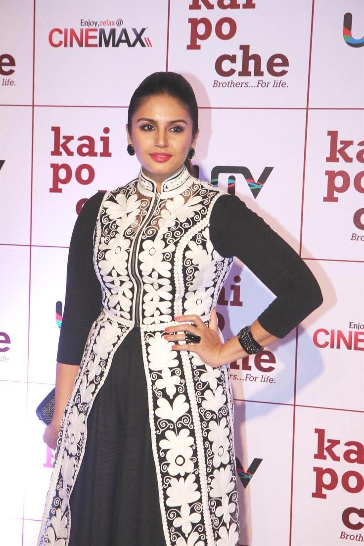Huma Qureshi at KAI Po Che Movie Premiere.