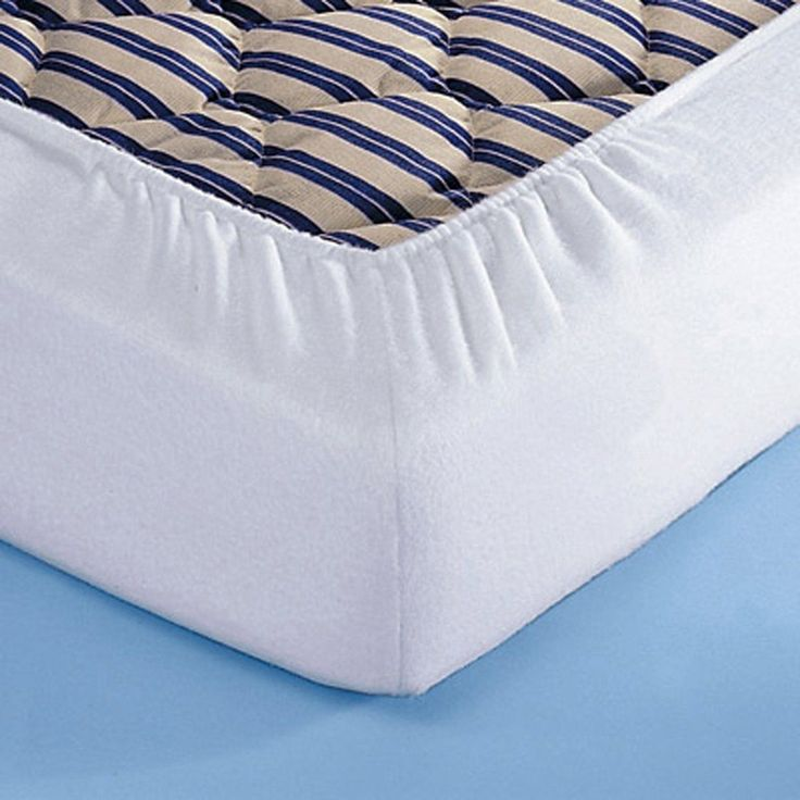 Anti Bacterial Cotton Towelling Mattress Protector