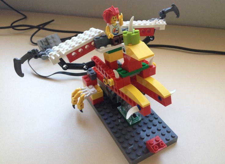 Lego WeDo Дракон the Dragon Drachen dragão 龍 ドラゴン تنين