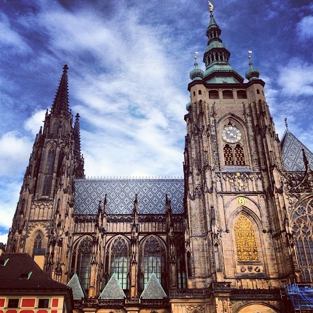 Prague is a wonderful place to travel, churches and castles galore.