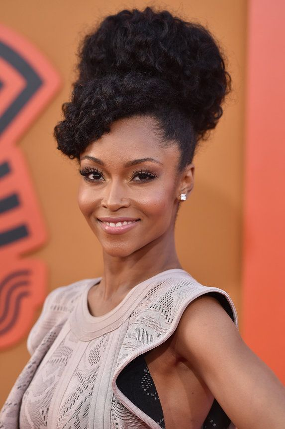 Yaya DaCosta  - 23 Party-Proof Updos That Are Perfect For Holiday Mixers
