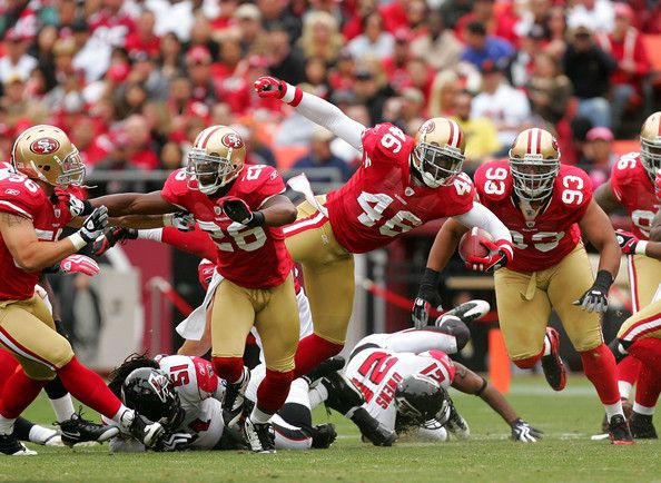 49ers game at Candlestick Park