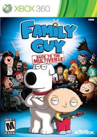 Boxshot: Family Guy: Back to the Multiverse by Activision #must