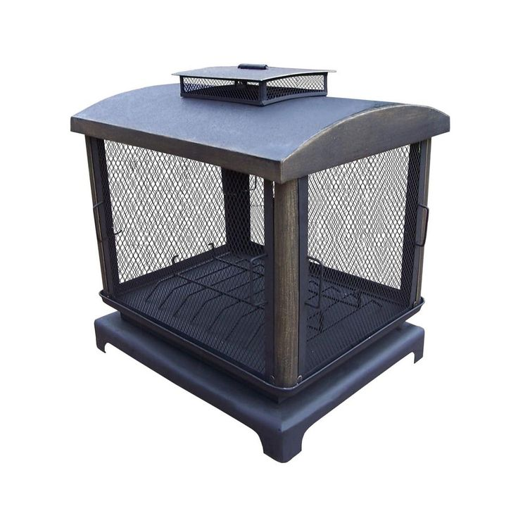 37 in outdoor fire place pit with 360 view and full