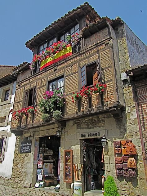 Santillana de Mar Cantabria Spain