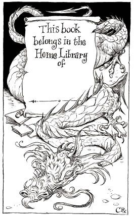 A bookplate by the wonderful Chris Riddell