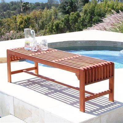 Vifah V1 Outdoor Backless Bench
