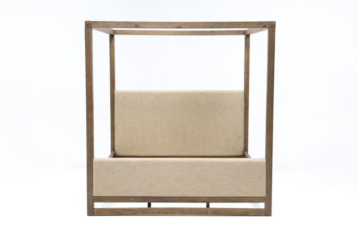 Nelson Queen Canopy Bed - 360