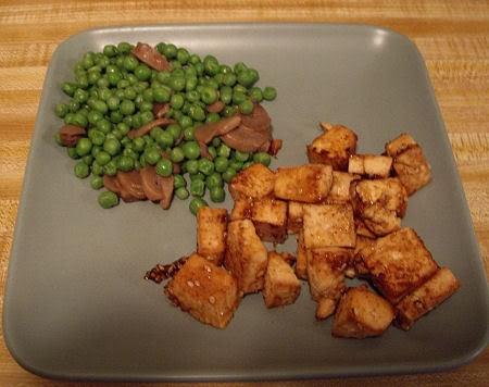 bbq baked tofu bites | recipes | Pinterest