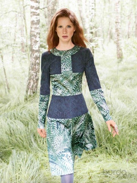 Abito patchwork - Abiti - Donna - Shop & Cartamodelli Il mondo dei cartamodelli e del cucito