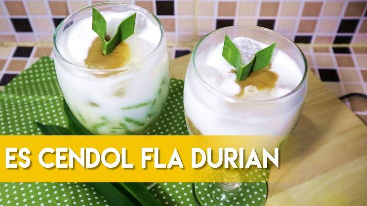 Resep Es Cendol Fla/Saus Durian (Resep dan Cara Membuat Secara Lengkap)