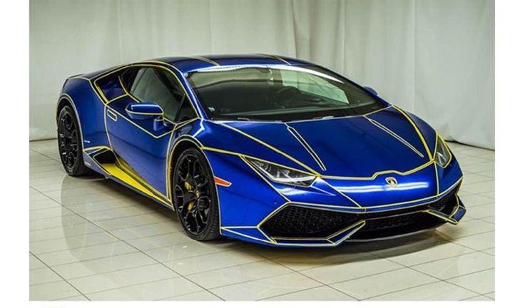 """""""Tron"""" Style 2015 Lamborghini Huracan For Sale"""