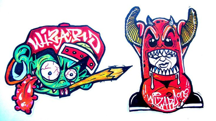 Graffitis weed 2 - YouTube |Weed Graffiti Characters Wizard