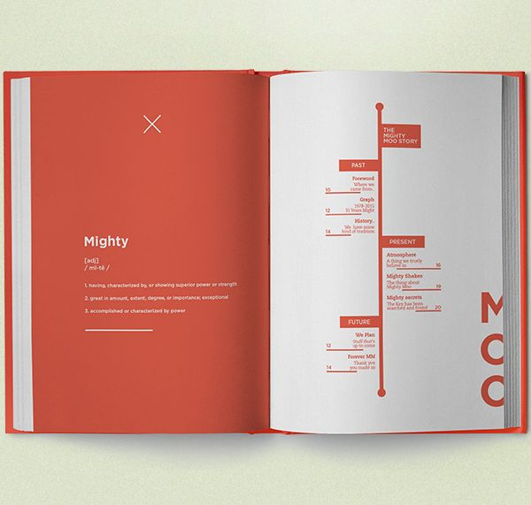Mighty Moo - Milkbar Book | Publication, Layout and Print ...