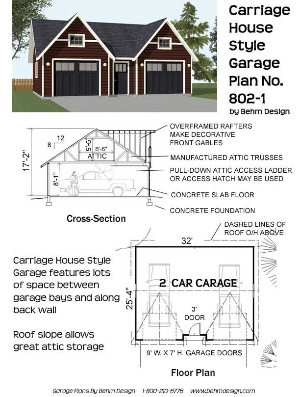 17 images about garage plans by behm design pdf plans for Vintage garage plans
