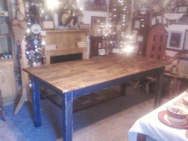 Kitchen table | Primitive/Americana decor | Pinterest