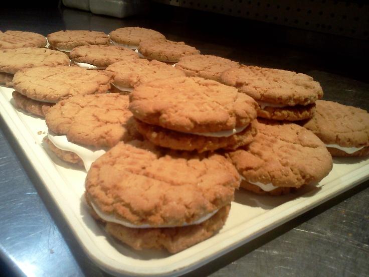 Fluffernutter cookies | Peanut Butter | Pinterest