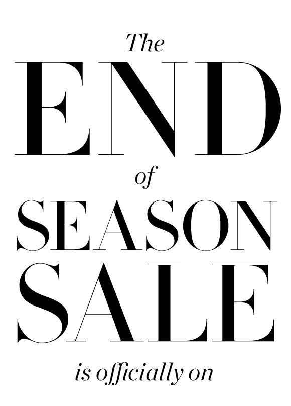 JCrew.com end sale newsletter email design